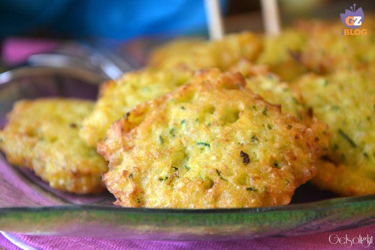 Frittelle di quinoa e zucchine