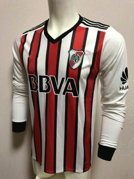 f6a620afe9f 18-19 Cheap Jersey River Plate LS 3rd Replica White Shirt [BFC831 ...