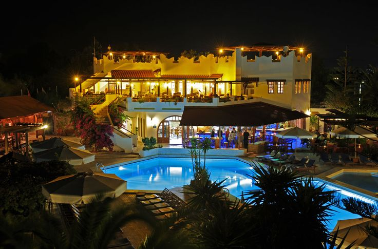 Gaia Garden Hotel #Kos consists of a main house with bungalows. Click on Book Now/More info for availability.