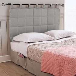 Cabeceira de cama acolchoada