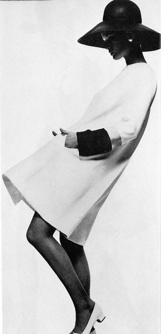 Vintage Fashion by Dior * UK Vogue 1967