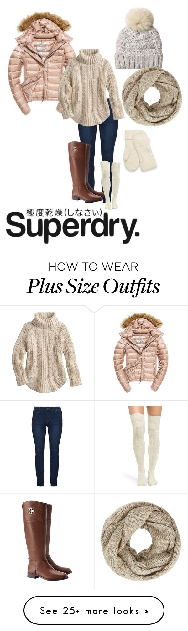 """The Cover Up – Jackets by Superdry: Contest Entry"" by katybaby17 on Polyvore featuring Fuji, Woolrich, John Lewis, Tory Burch, UGG, Superdry and Winter"
