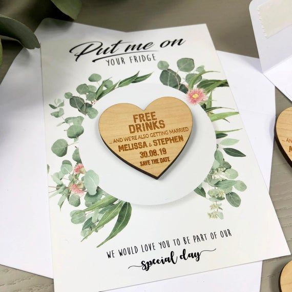 Cards Personalised Wedding Invitation