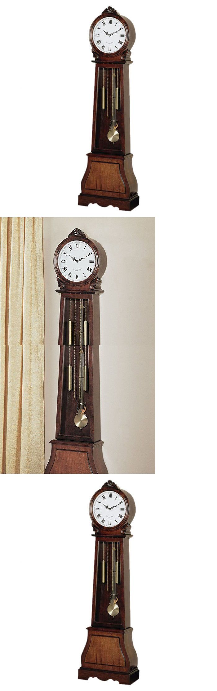 Grandfather Clocks 20559: Grandfather Clocks For Sale Roman Numeral Clock Wall Antique Vintage Chimes Wood -> BUY IT NOW ONLY: $434.96 on eBay!