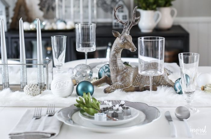 1001 Table Decoration Ideas Diy Instructions For Making Your Own With Images Christmas Table Decorations Table Decorations Christmas Table