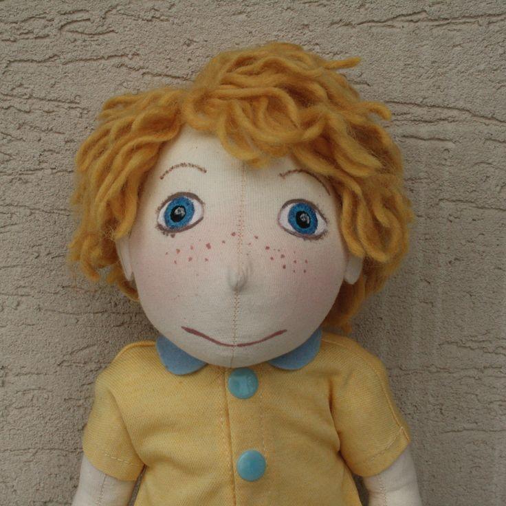 handmade doll - boy http://monahtoys.blogspot.sk/