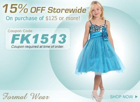 Formal Wear - Kids Wear - Pinterest