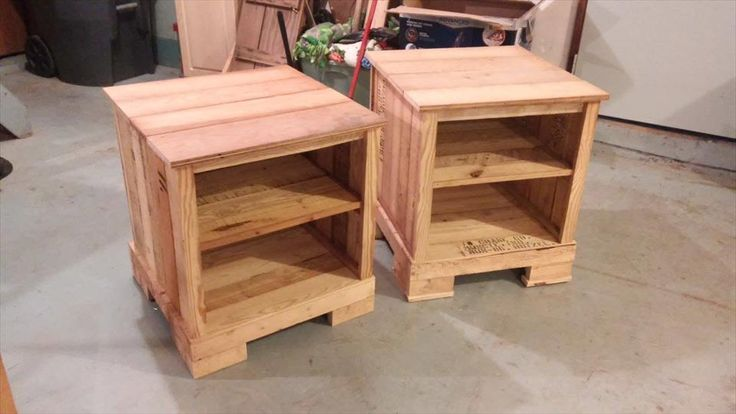 #Pallet Night Stands | 99 Pallets