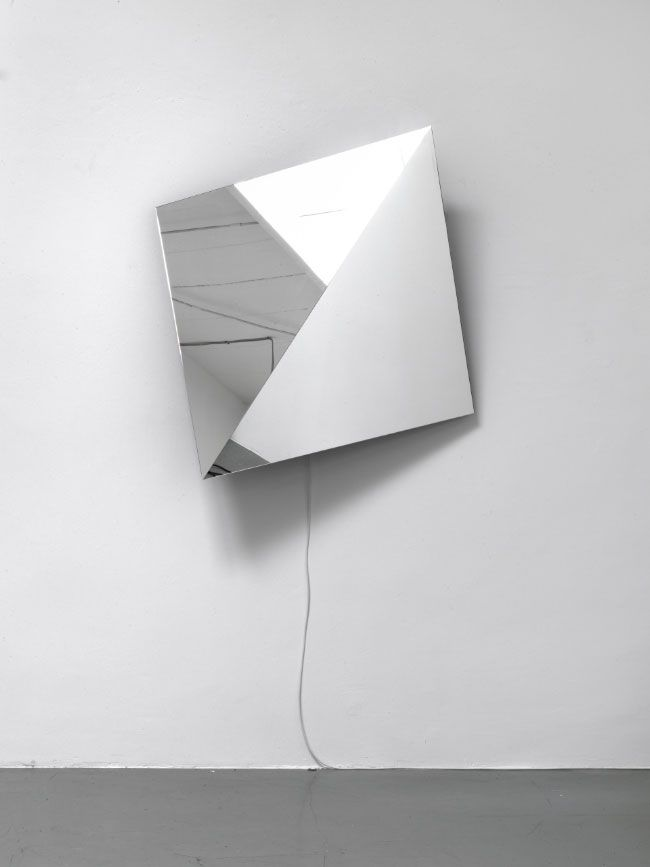 Jeppe Hein | Rotating Mirror Object, 2011