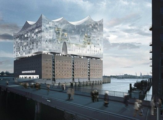 Herzog & de Meuron's Elbphilharmonie to be Completed by 2017 in Hamburg, Germany. Visited in 2013 Summer and still on construction.