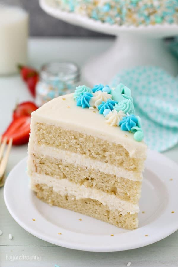 9 Of The Most Creative Vanilla Cake Recipe You Can Make At Home