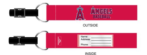 Los Angeles Angels 2-Pack Luggage ID Tags