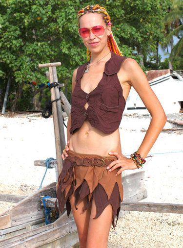 fairy clothing outfit & costumes brown