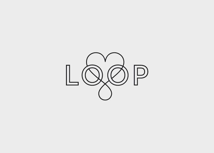 Loop #Identity #Logo #Design #Branding #Typography
