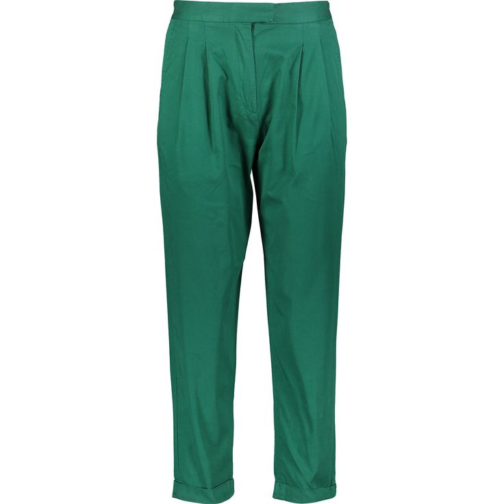 Dark Green Chino Trousers - Trousers - Trousers & Skirts - Clothing - Women - TK Maxx