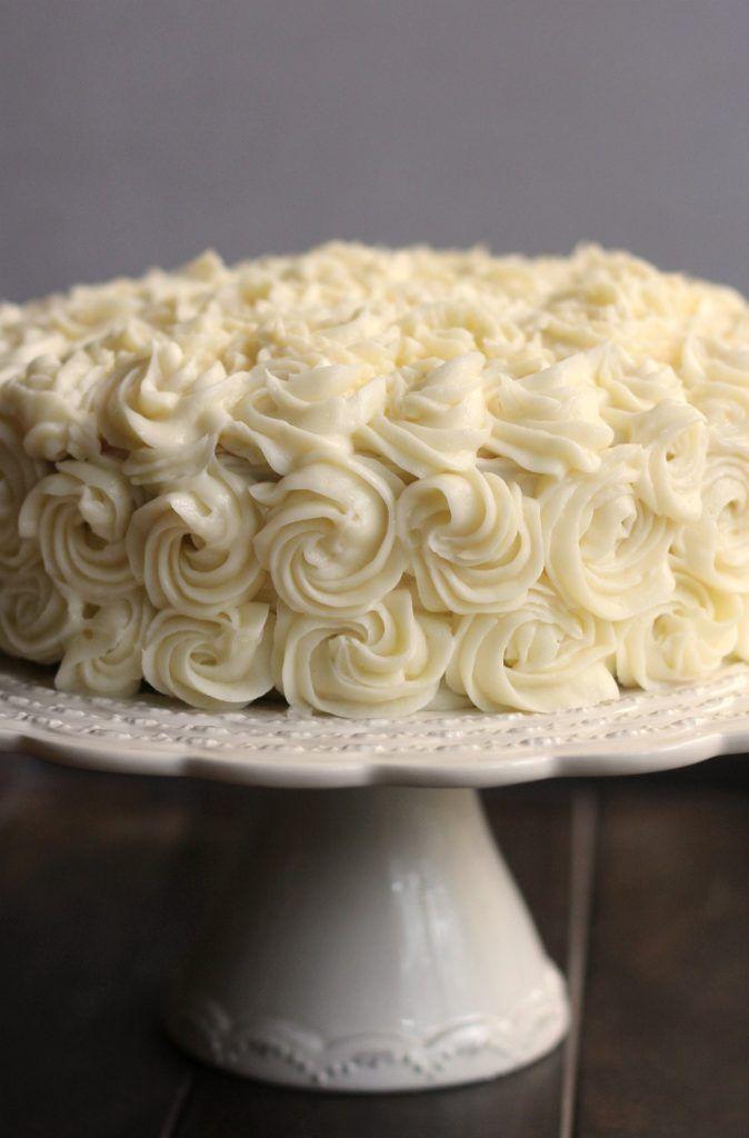 Making A Bakery Quality White Cake With Buttercream Frosting Recipe Birthday Cake Recipe Cake Cake Decorating