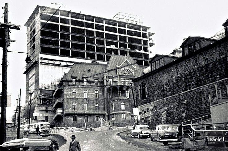 L'Hôtel-Dieu de Québec en 1955