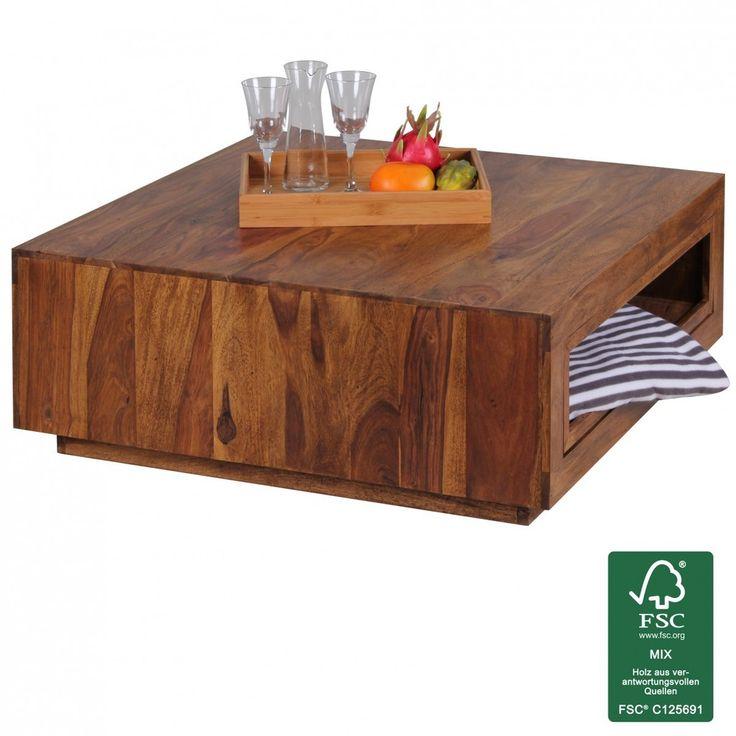 Couchtisch FineBuy Massiv Holz Sheesham 88 X Cm Design Wohnzimmer Tisch Ausziehbar Landhaus Stil Preis Ab Euro Jetzt Meist Versandkostenfrei