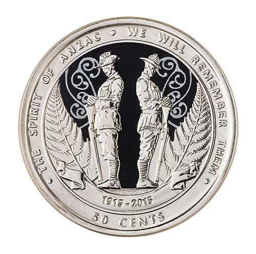 This commemorative 2015 ANZAC coin is for everyday circulation - it's not an expensive collectors piece. (Would still make a nice memento)