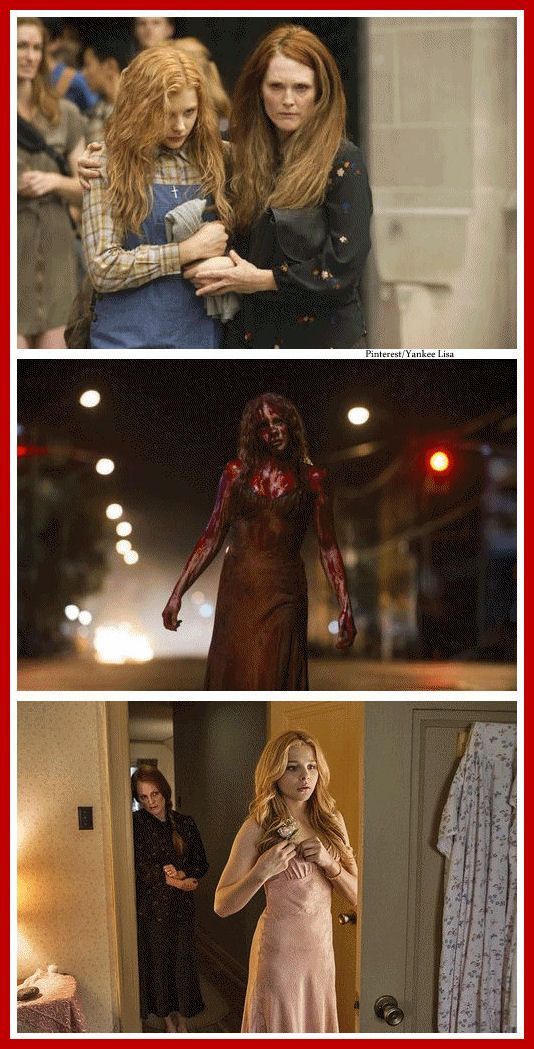 Horror Movies  ... Carrie (2013).  I actually found it to be better than I was afraid it would. E