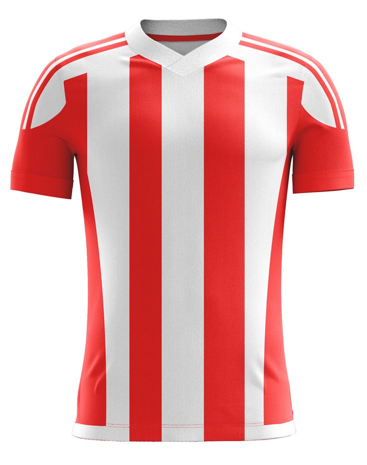 Blank soccer jersey available at dsports redwht stripe