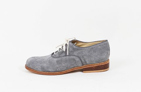 &Attorney Moriati Laceup in Grey Suede
