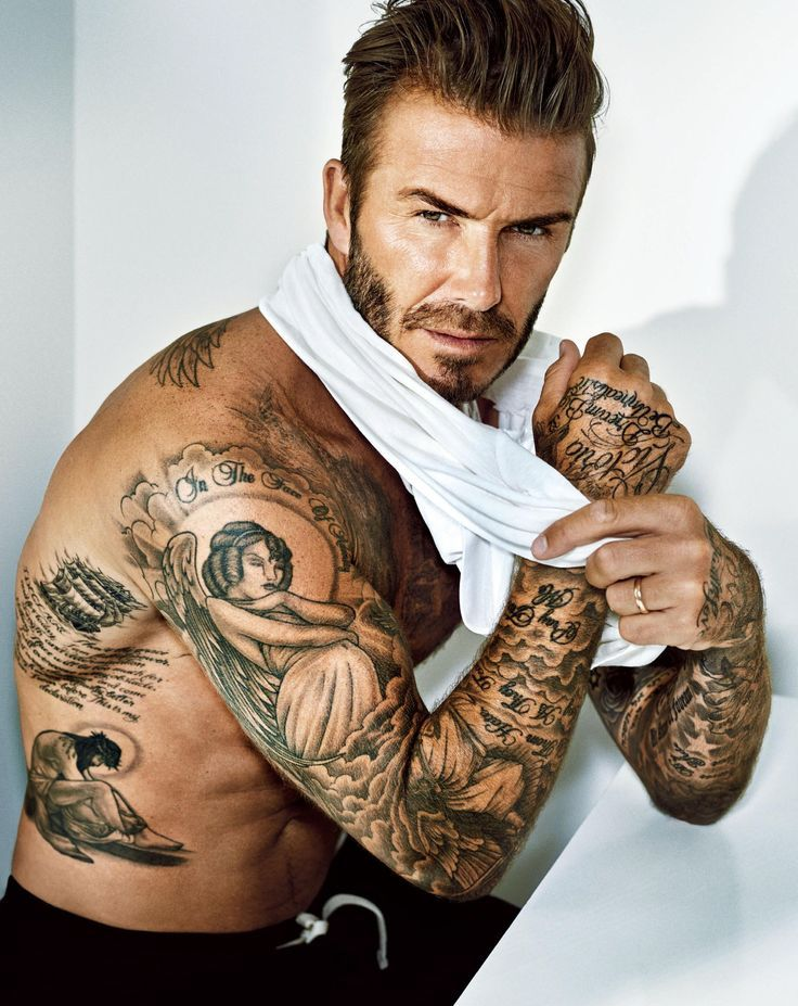 Great! PHOTOGRAPHER: MARC HOM CELEB: DAVID BECKHAM STYLING: MARYAM MALAKPOUR HAIR: KEN PAVES MAKE UP: SARAH LUCERO #richfashion #unique #style #tatoos #love