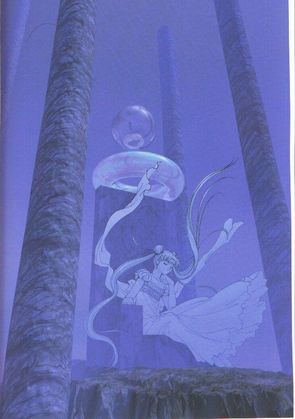 """Art by: Kia Asamiya (manga artist for """"Silent Moebius"""", etc.)"""