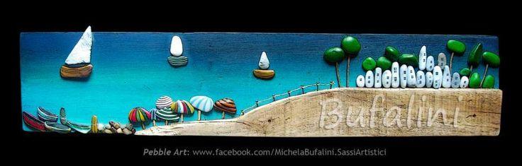 La spiaggia by Michela Bufalini