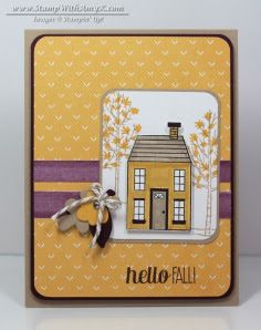 Holiday Home 2 - Stamp With Amy K Stampin' Up!