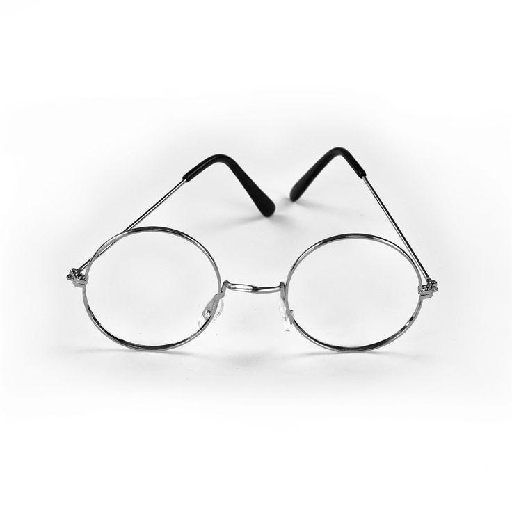 Brille Rund Oma Opa ohne Gläser Verkleiden Weihnachtsmann Nikolaus in Feierlichkeiten / Anlässe   • Karneval Fasching Party • Brillen