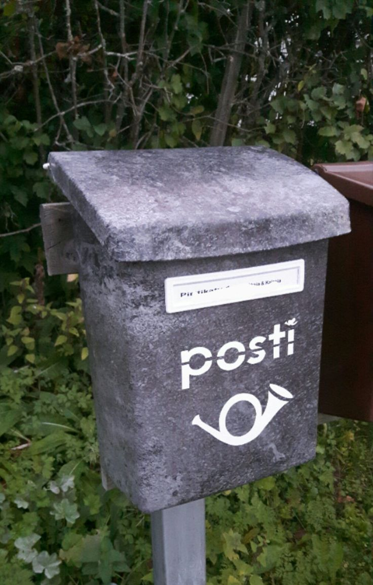 Postilaatikko, mail box, dc-fix, diy, posti