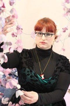 Mon look retro, tout en vert, pour le salon Creativa à Metz!