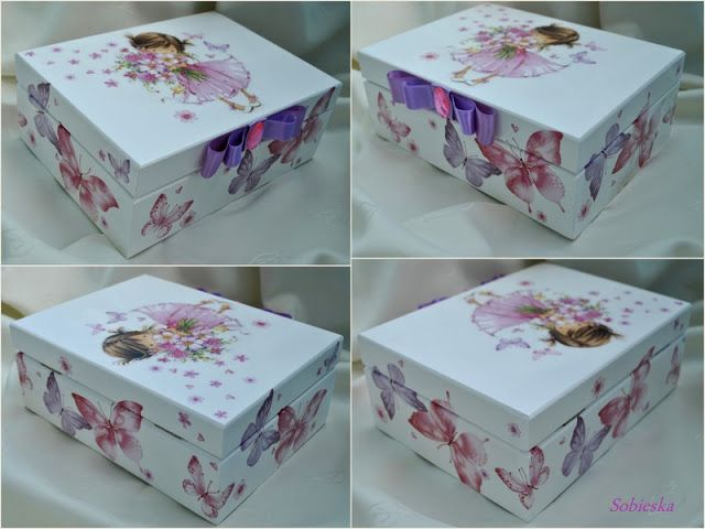 caja mariposas