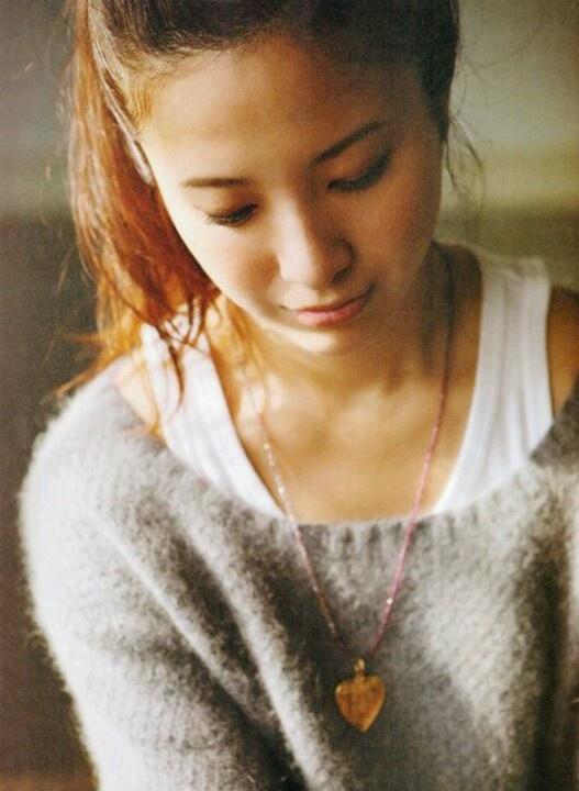 #Yuriko Yoshitaka #japanese actress #fashion #hair