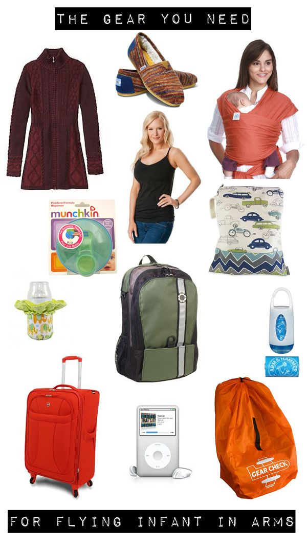 Infant In Arms Wishlist Stuff For Flying With A Baby