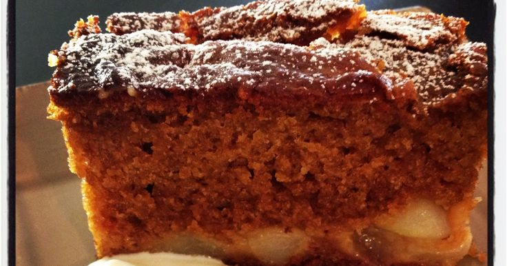 Nat's Thermomixen in the Kitchen: Sticky Pear Ginger Cake | Thermomix Recipes