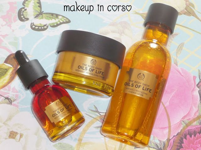 Makeup in Corso: Nuova linea Oils of Life The Body Shop