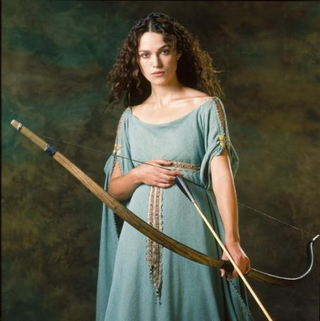 Keira Knightley as Guinevere | King Arthur, Dir. Antoine Fuqua, 2004.