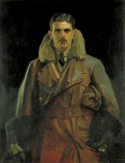 Second Lieutenant Gilbert Stuart Martin Insall (1894–1972), VC, MC, Royal Flying Corps and Later Squadron Leader, Royal Air Force, 1919 by Eward Newling (1890-1964)