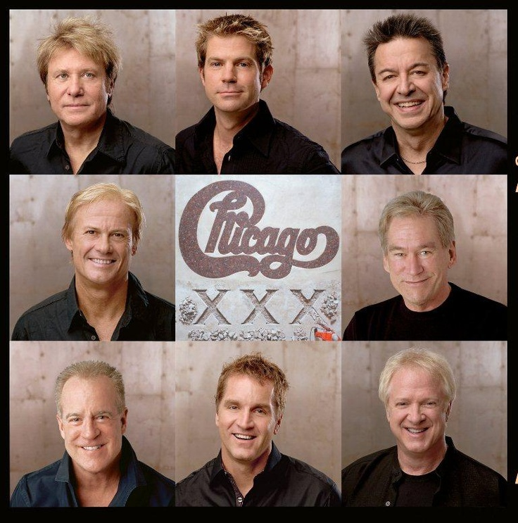Chicago - The Band...casino niagara and they played. Saturday in the ParK....so many hits