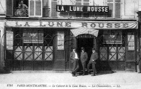 Cabaret de la Lune rousse Montmartre
