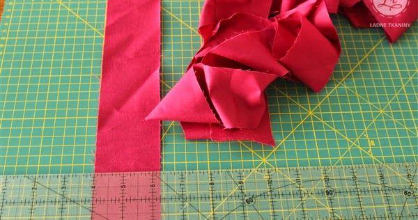 Jak zrobić lamówkę do patchwork ZŁOTY GUZIK SHIK
