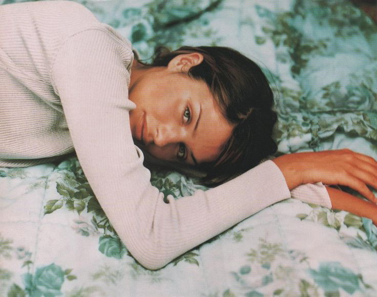"""Helena's Heaven"", Vogue Australia, February 1994 Photographer : Shane Watson Model : Helena Christensen"
