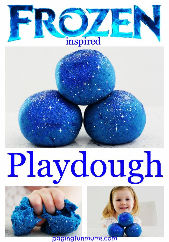 'Frozen' Playdough
