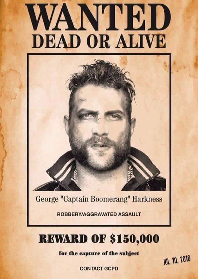 "George ""Captain Boomerang"" Harkness"