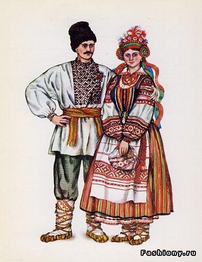 Свадьба в украинском стиле, старое