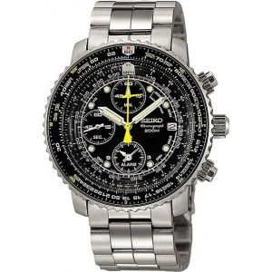 Avec -50%, la montre Seiko SNA411 Aviateur Bracelet Acier SNA411P1 est le bon plan absolu !  Avis aux amateurs de montres aviateur, la promo est toujours en cours...  Note :3.8/5 (169 votes) -> vous avez apprécié !    A vous de voter : http://www.chic-time.com/montres-homme/230-montre-homme-seiko-aviateur-sna411p1-4954628016263.html