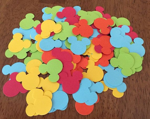 Mickey Mouse Clubhouse Confetti 200 Mickey by DM3PartyDesigns