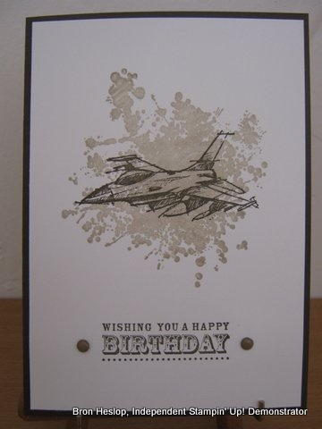 nice masculine card! Need for Speed; Extreme Elements; Happiest Birthday Wishes stamp set
